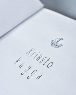 baltai balta kriksto knyga jura