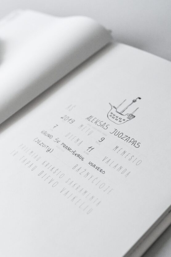 Krikšto knyga hugabook