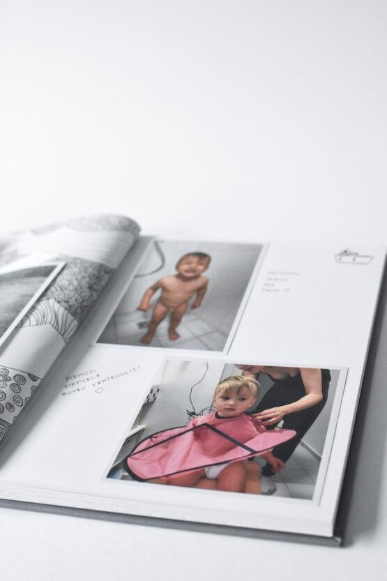Albumas, kūdikio knyga, vaiko knyga, hugabook