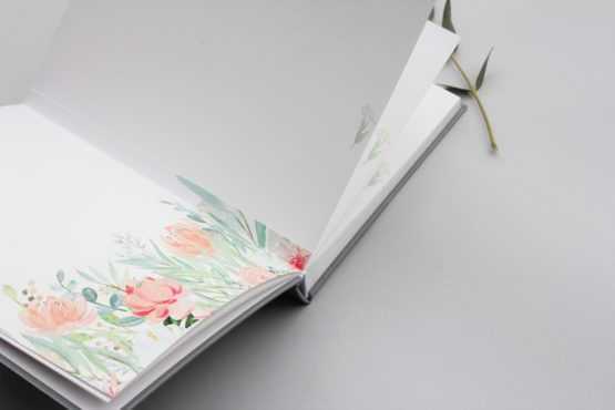 polaroid wedding guest book/ hug a book